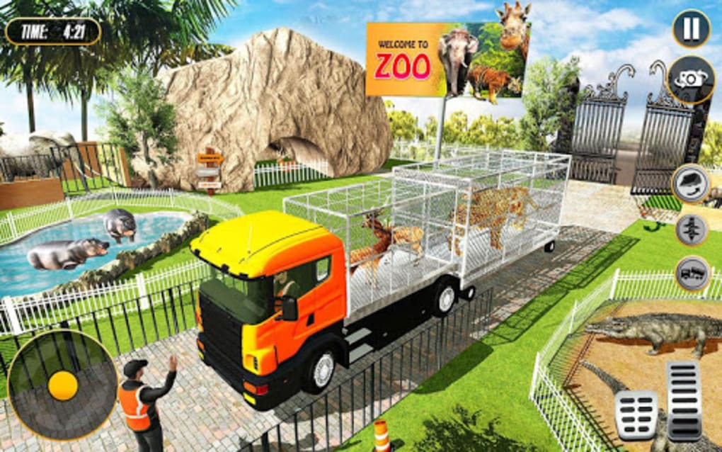 Animal Zoo Construction Simulator : Building Games for