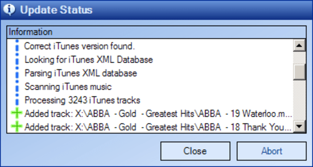 iTunes Library Updater - Download