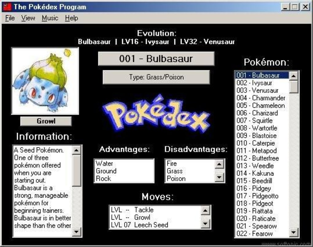 Pokedex free download.