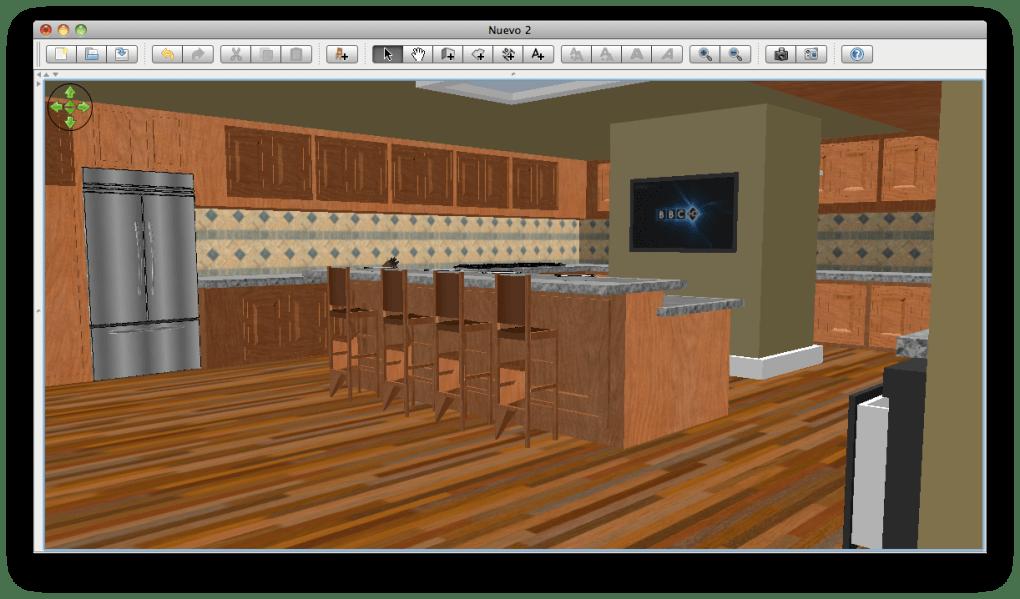 Moderno Cocina 3d Planificador De Mac Ilustración - Ideas de ...