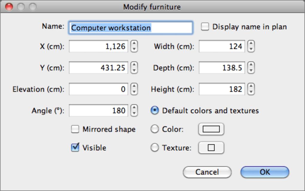 sweet home 3d voor mac download. Black Bedroom Furniture Sets. Home Design Ideas