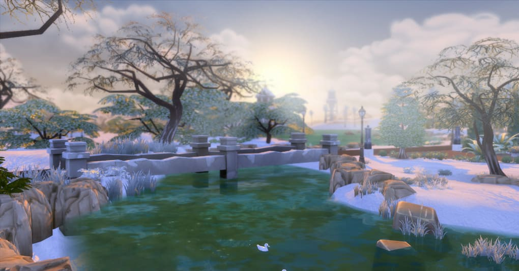 the sims 4 first snow mod download