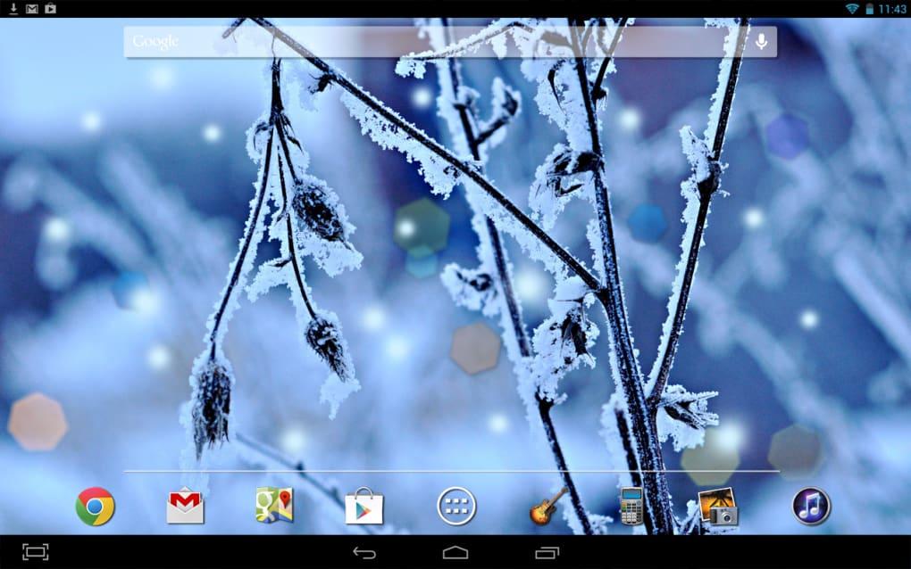 Winter Frost LWP HD