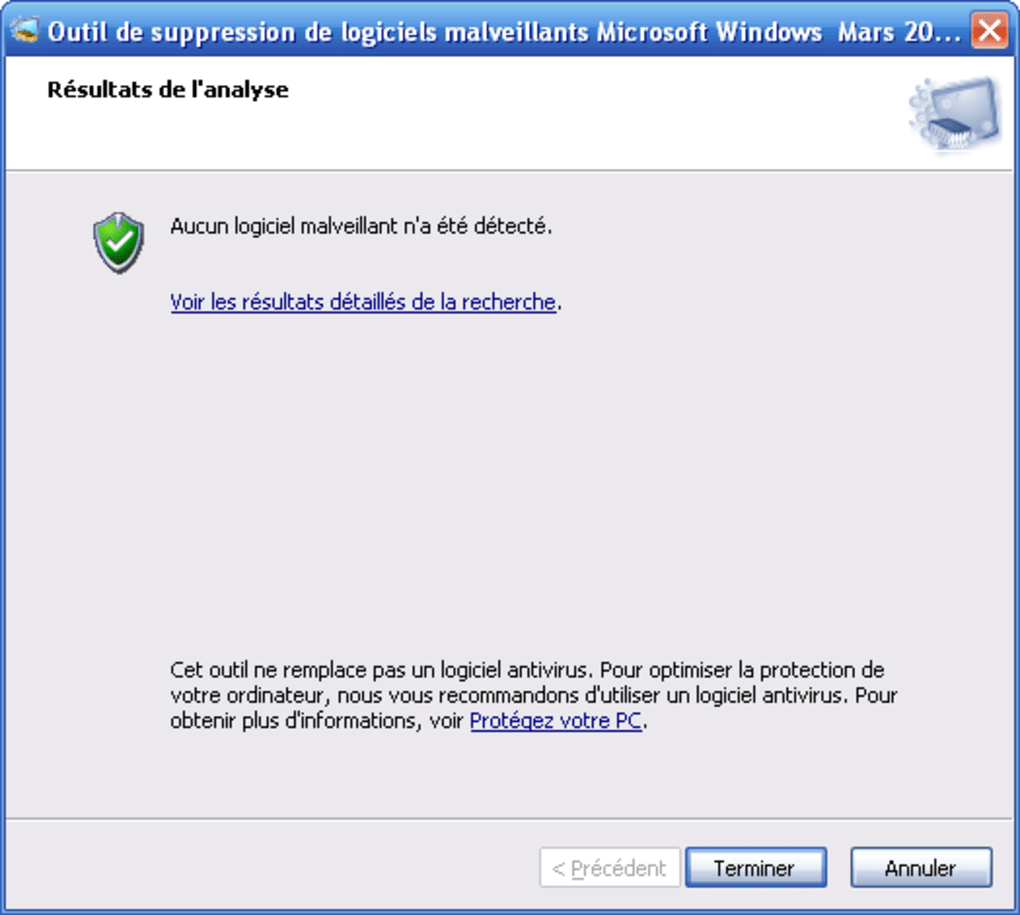 outil de suppression de logiciels malveillants windows mai 2012
