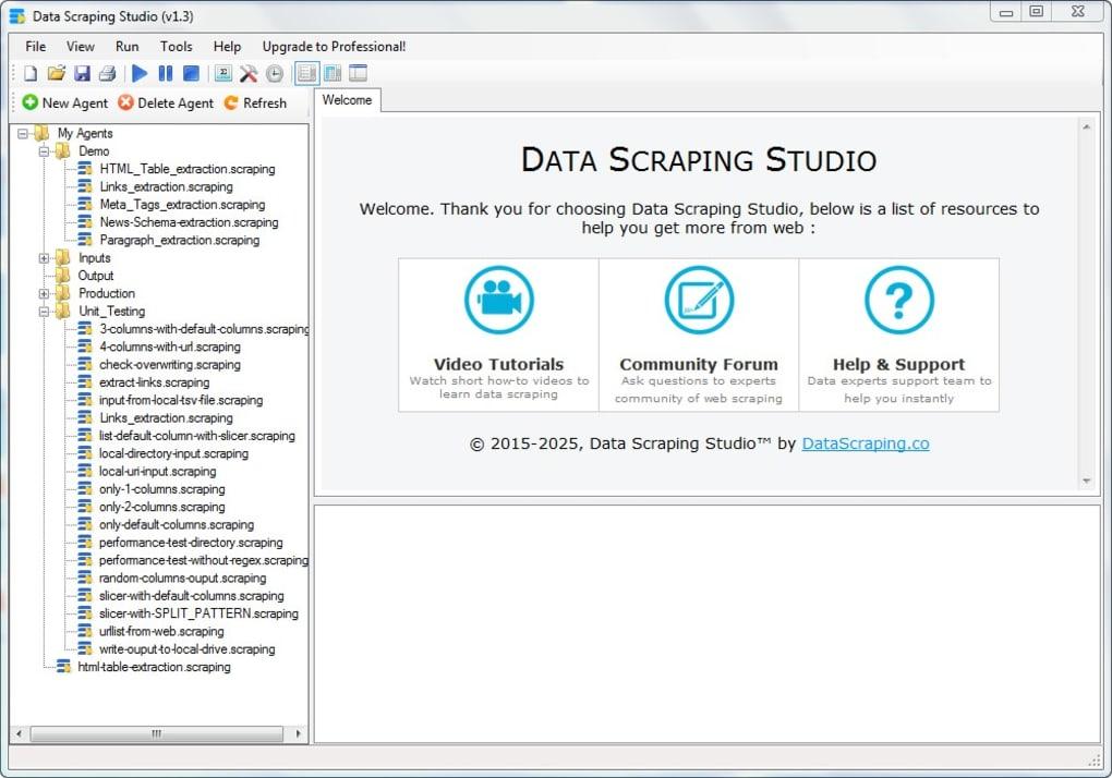 Data Scraping Studio