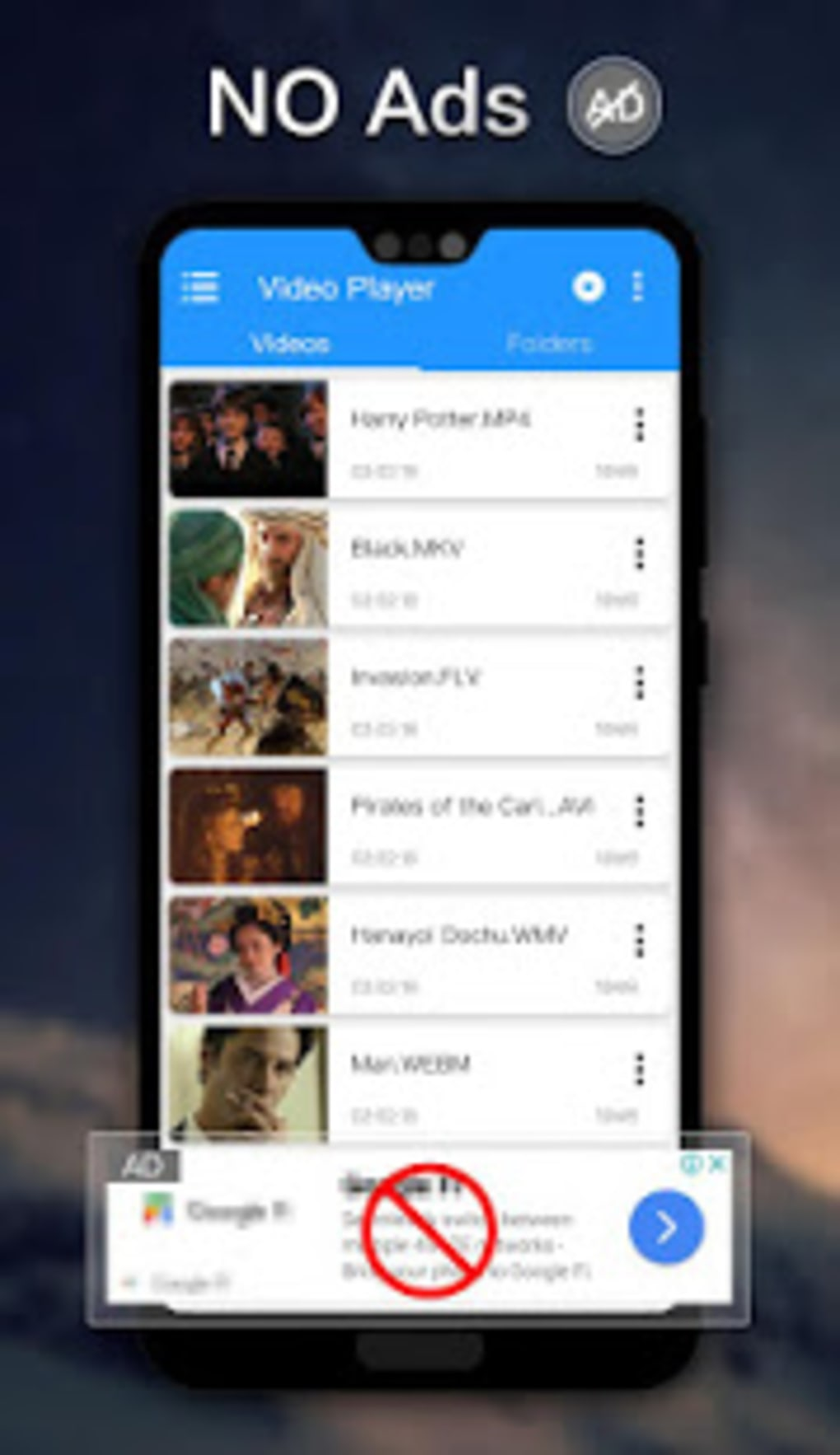 Hd player-Private video player for Android - Download