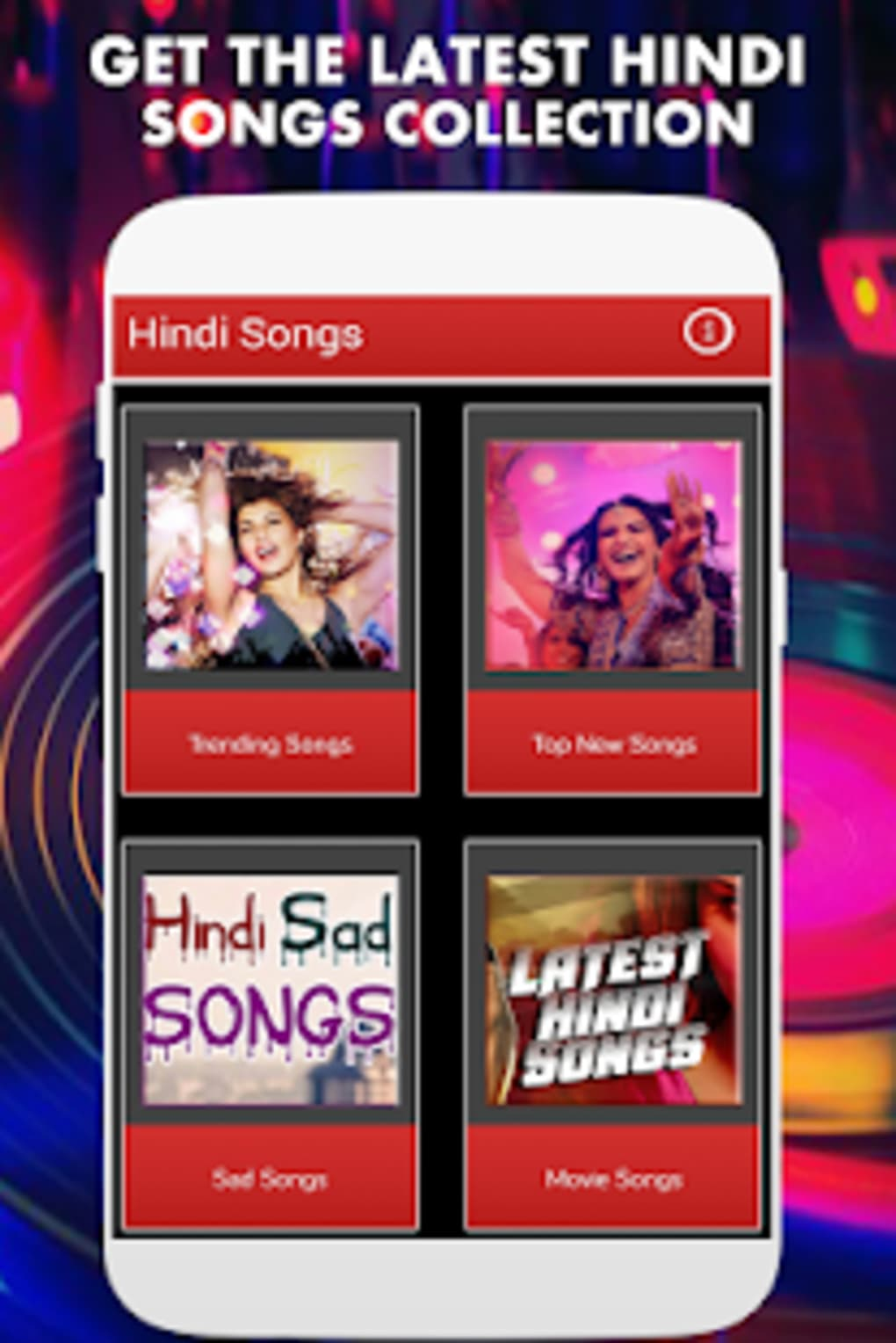 1000 Latest Hindi Songs 2018 - MP3 APK for Android - Download