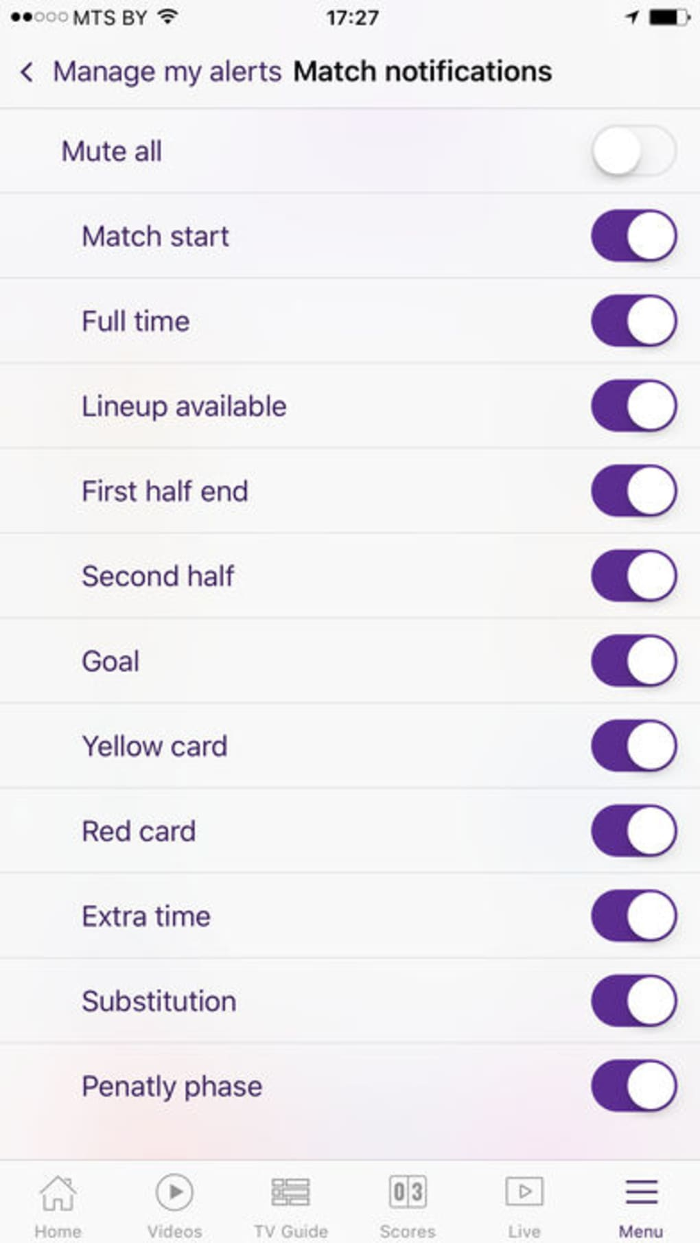 beIN SPORTS for iPhone - Download