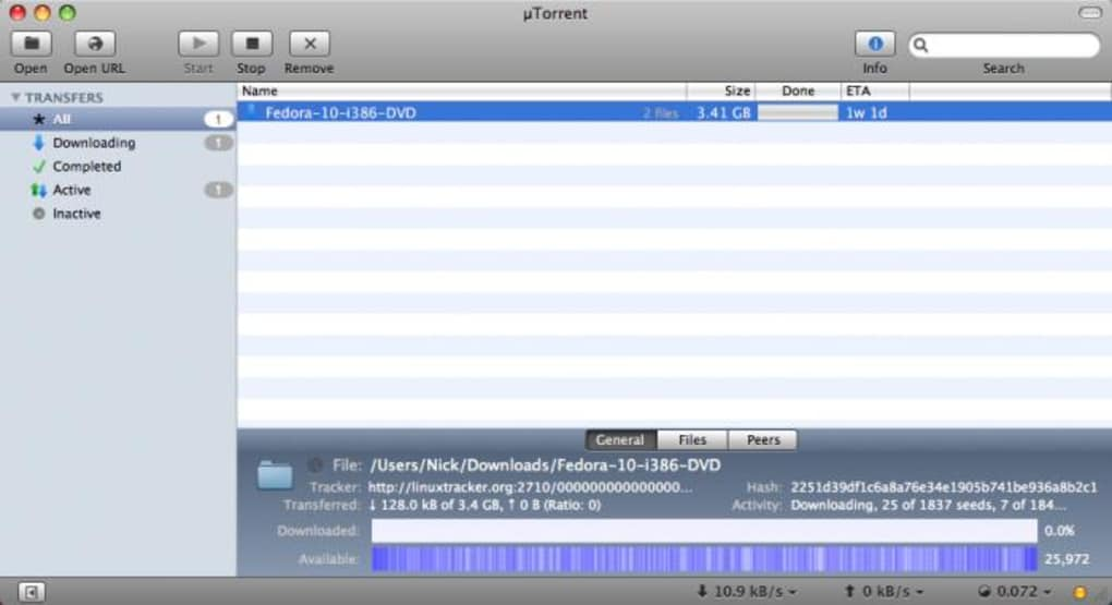 how to download music on utorrent for mac