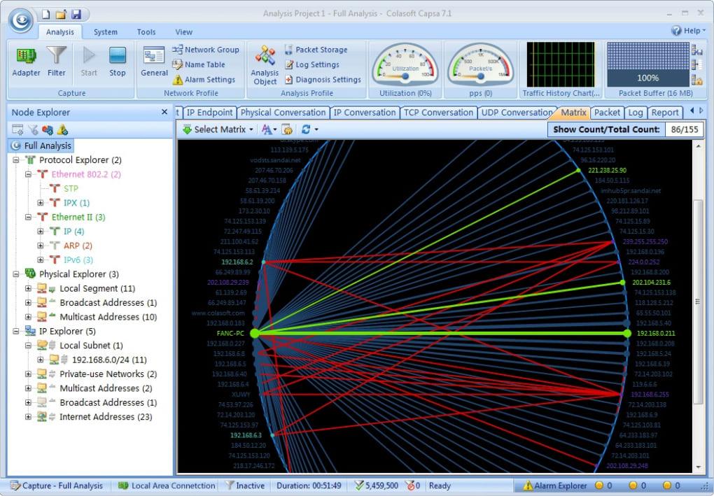 Colasoft Capsa Network Analyzer - Download