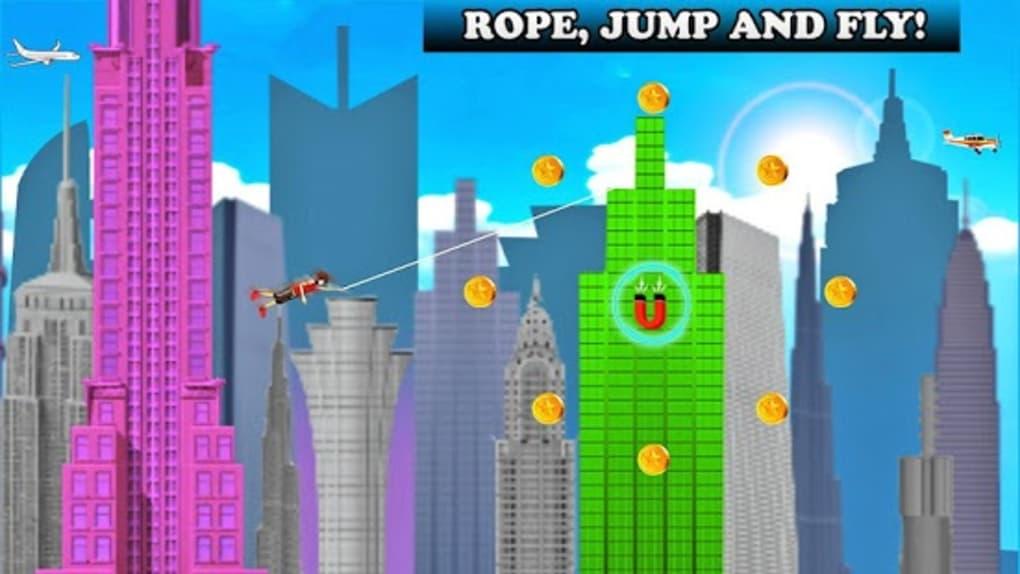 Flying Rope Guy