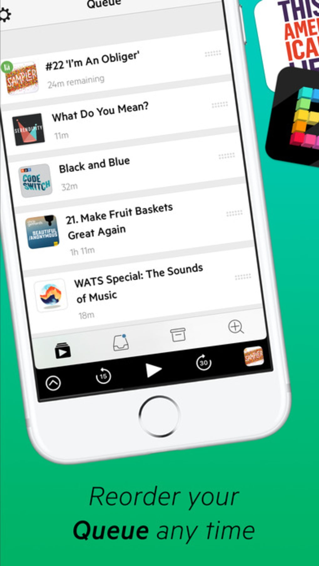 Castro: Podcast Player for iPhone - Download