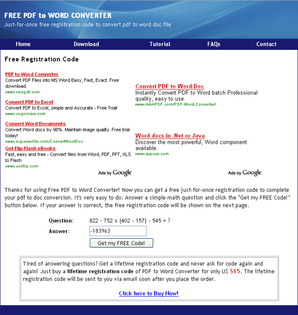 Free pdf to word doc converter download prs stopboris Gallery