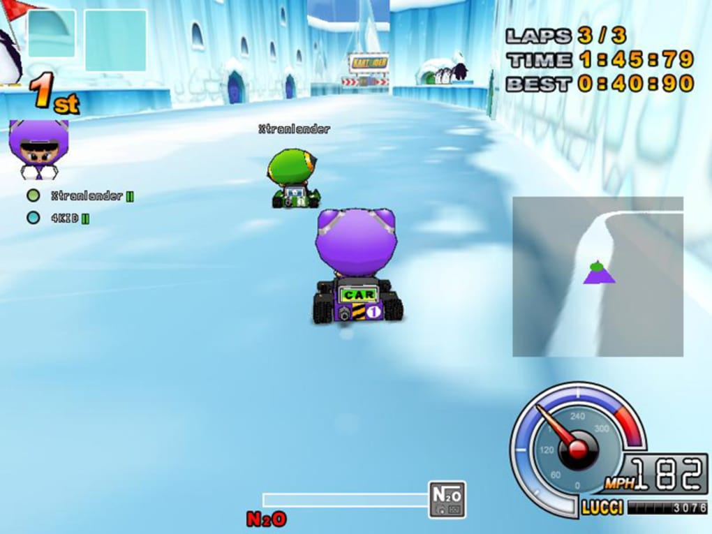 Play Kartrider Dash Game Online