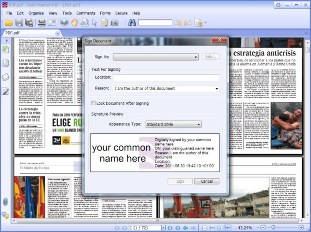 foxit advanced pdf editor free download
