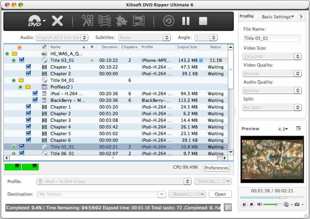 Xilisoft DVD Ripper for Mac - Download