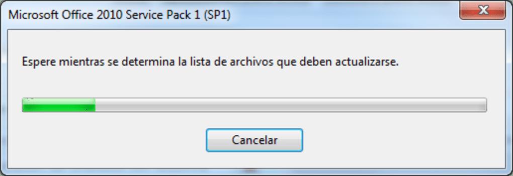 Service Pack 1 Para Microsoft Office 2010 Pros