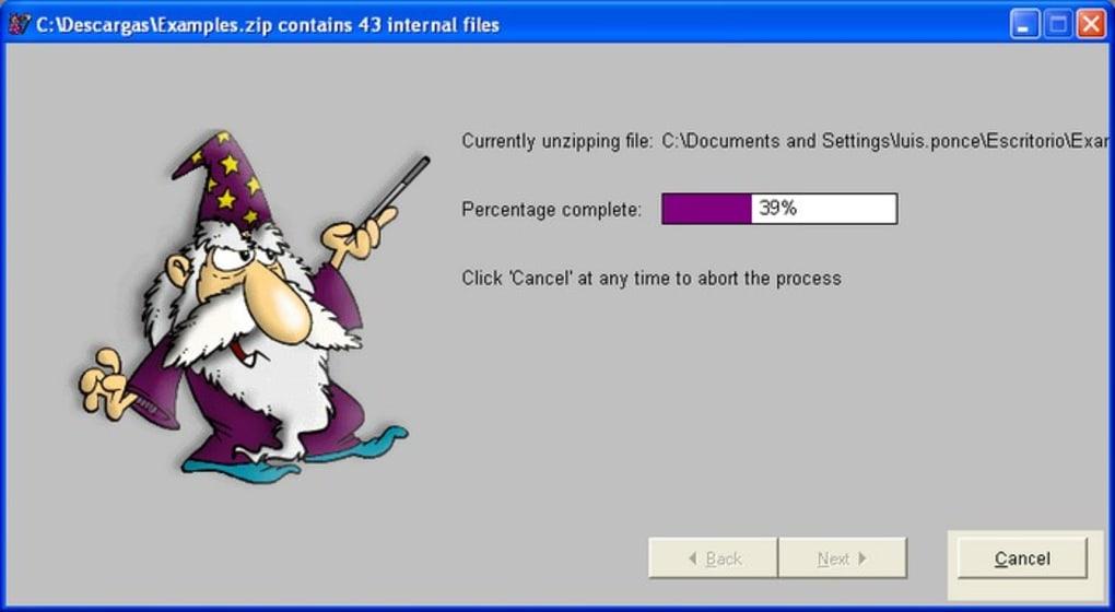 Unzip Wizard - Download