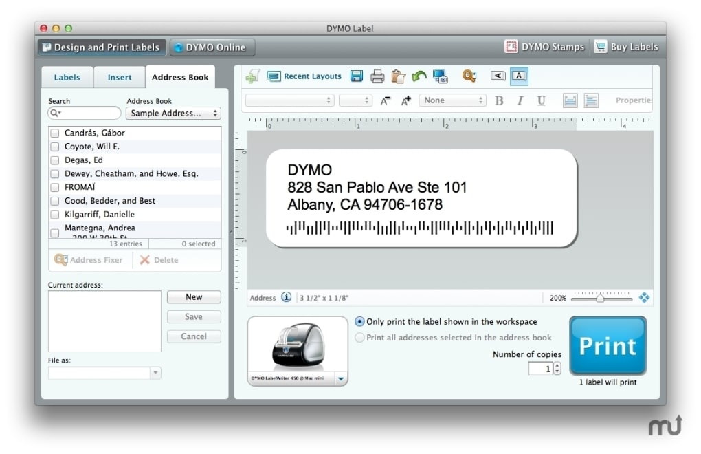 DYMO Labelwriter for Mac - Download