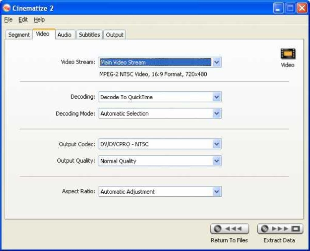 Cinematize pro 3. 03 free download for mac | macupdate.