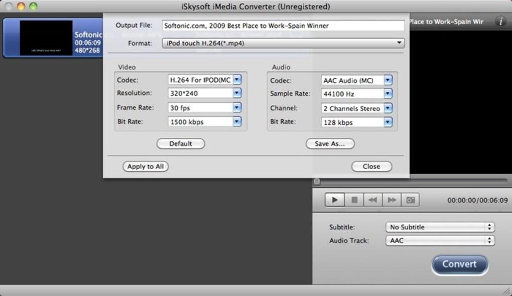 iskysoft video converter free download softonic