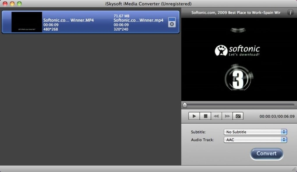 Iskysoft Imedia Converter Deluxe For Mac Zippyshare