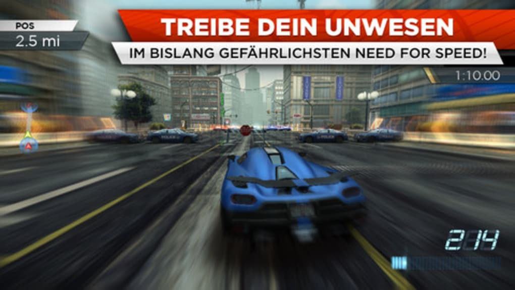 kostenlos need for speed most wanted vollversion