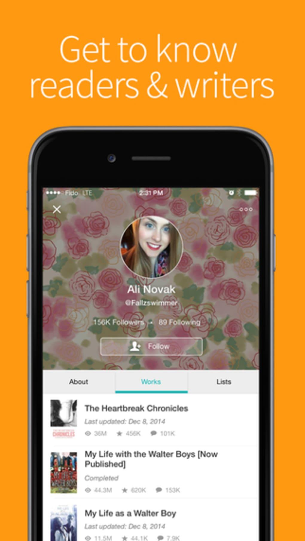 Wattpad for iPhone - Download