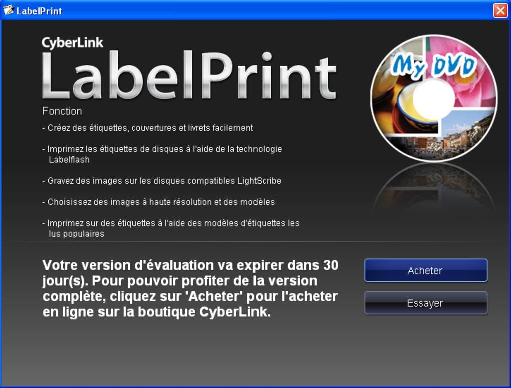 labelprint gratuit