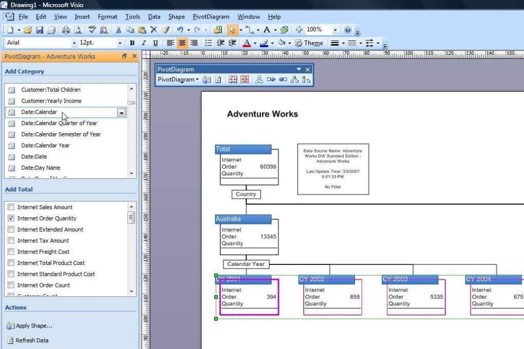 Cl 195 169 Microsoft Office Visio 2007 Gratuit