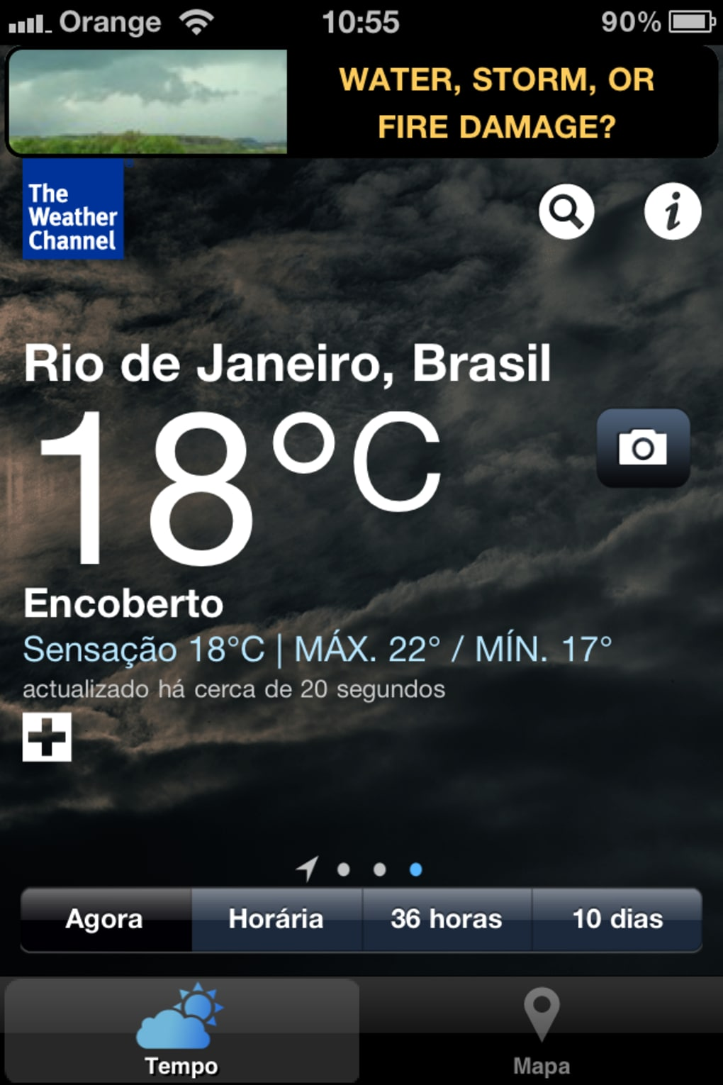 the weather channel para iphone