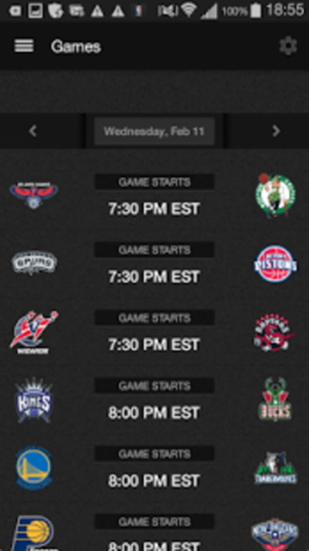 NBA GAME TIME for Android - Download