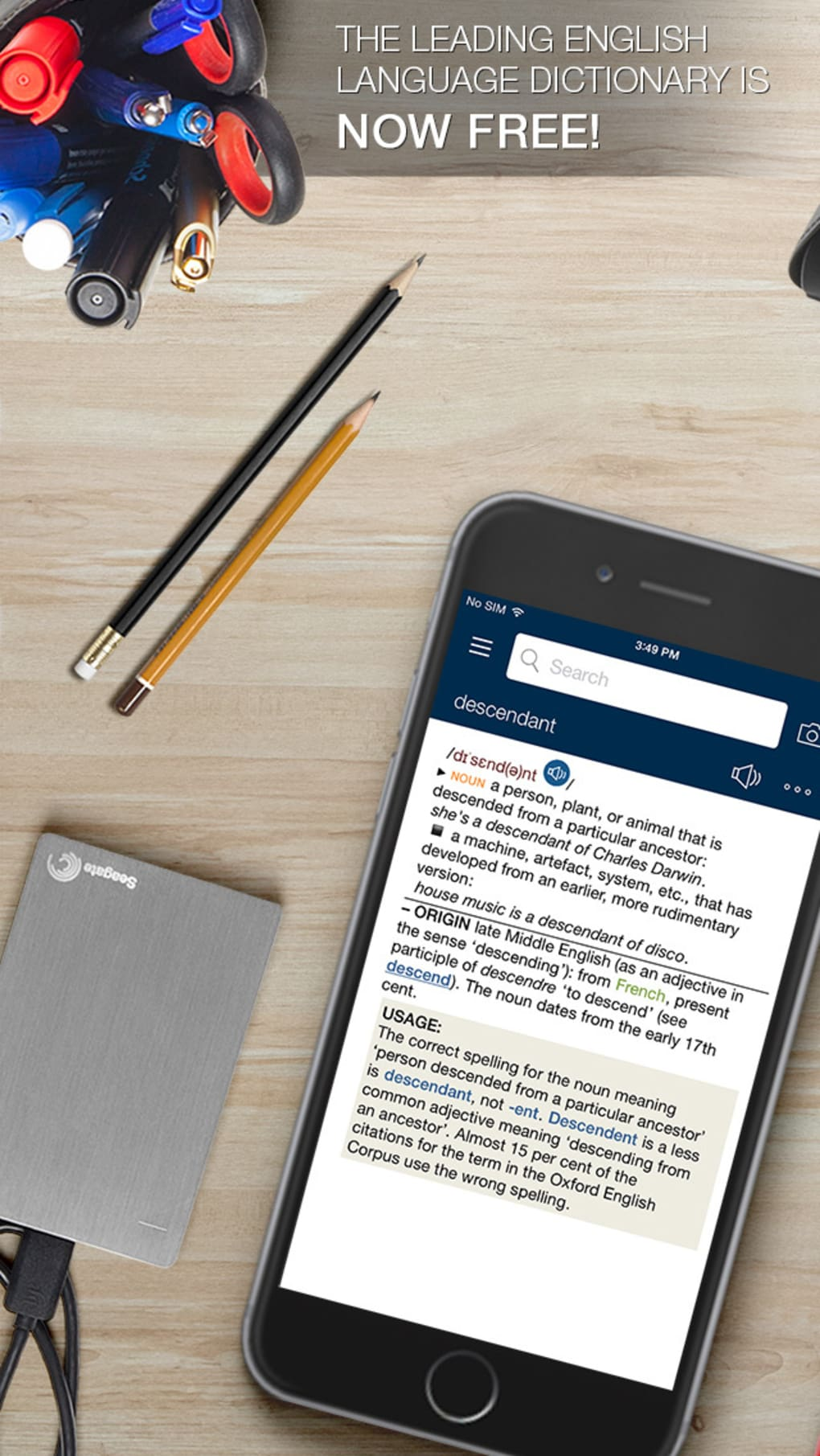 Oxford Dictionary of English FREE for iPhone - Download