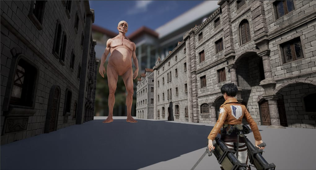 Attack on titan tribute game new titan models and kill cam! | anu.