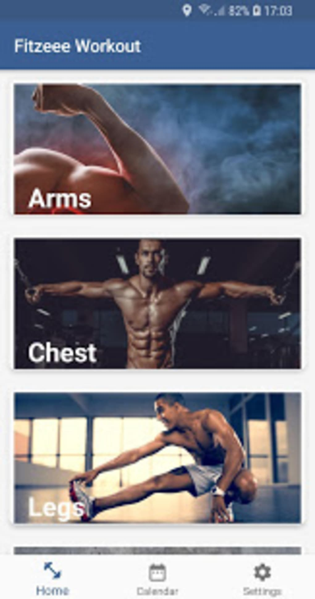 Home Workout - Men Fitness para Android - Download