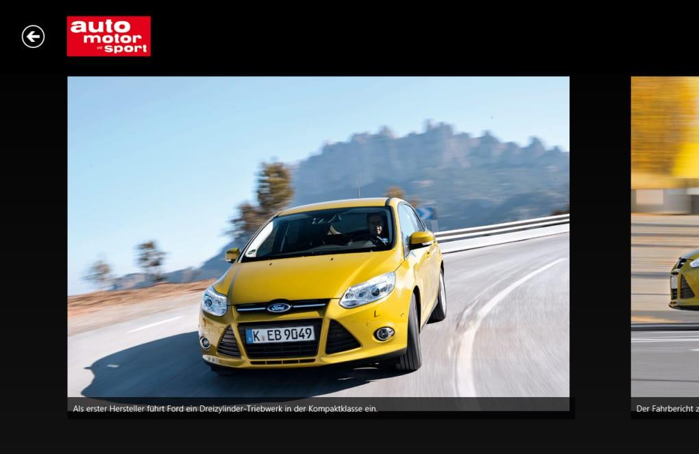 auto motor und sport für Windows 10 (Windows) - Download