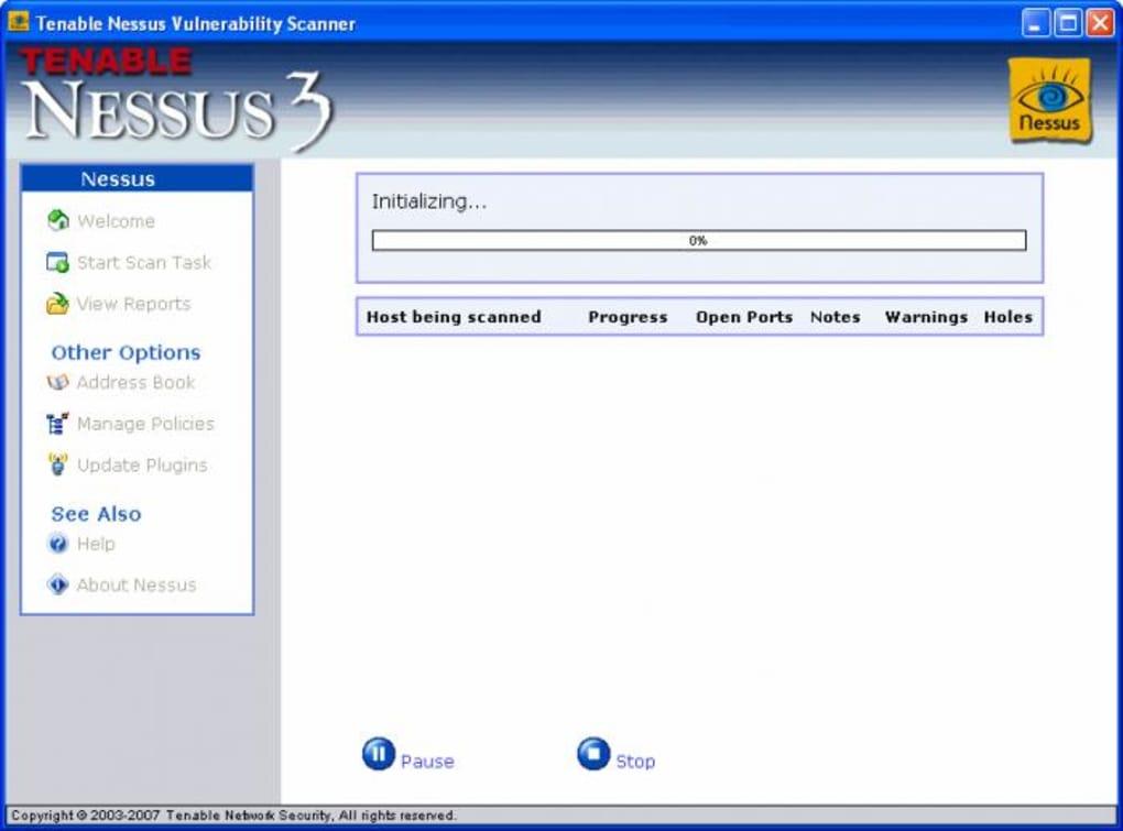 Nessus - Download
