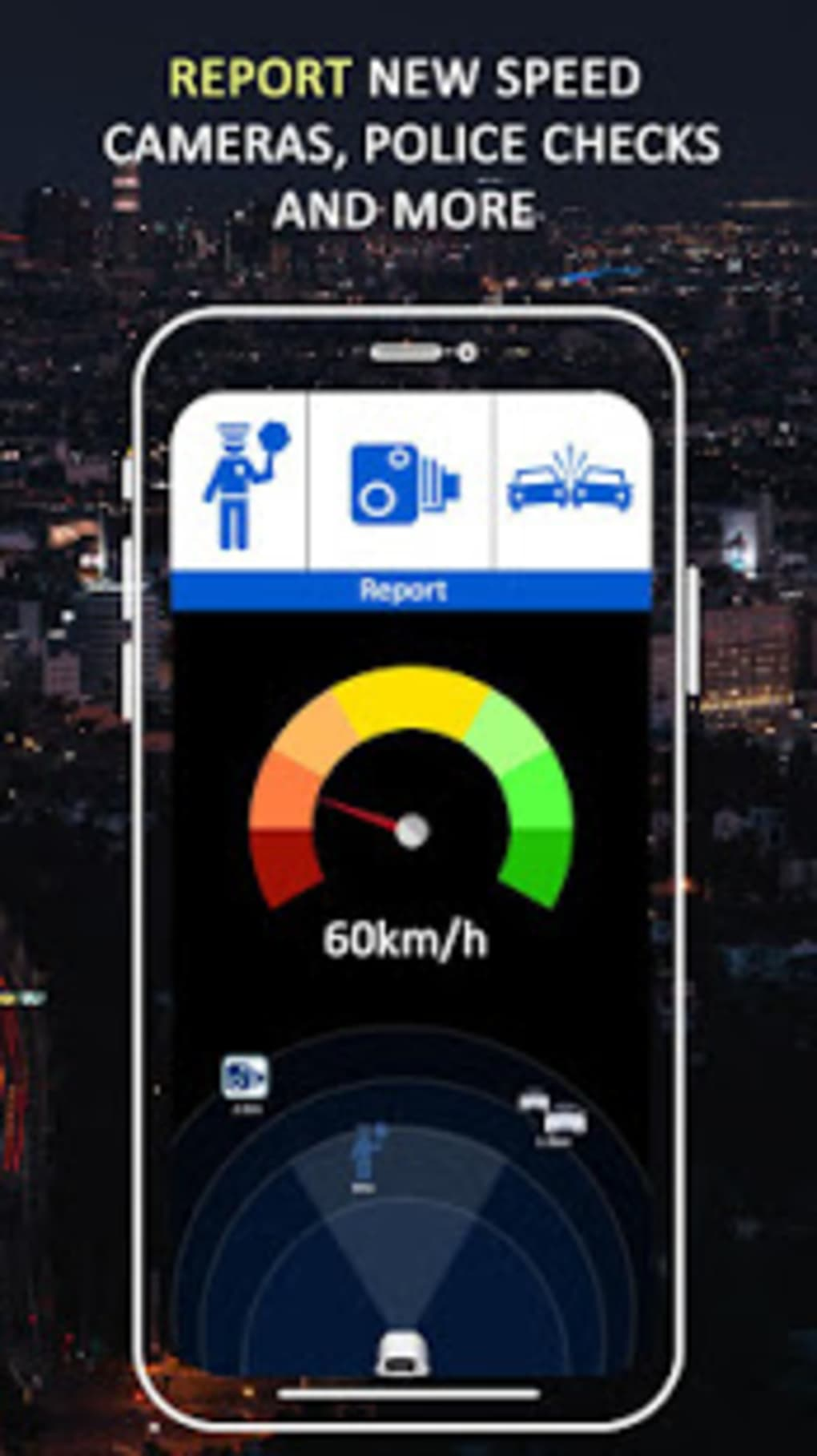 Radar Detector App >> Gps Speed Camera Tracker Gps Maps Radar Detector For Android