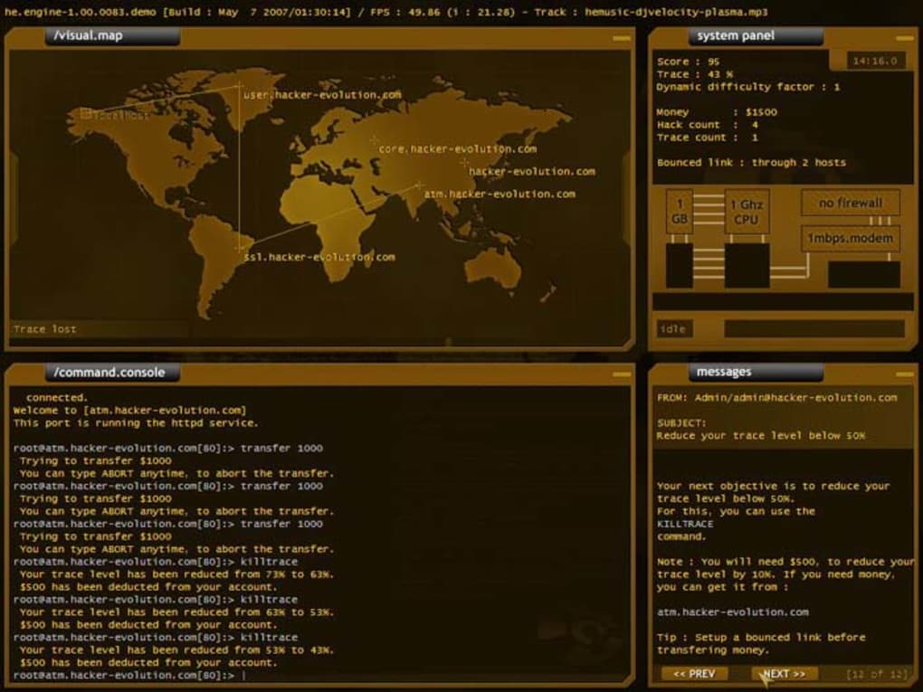 Hacker Evolution - Download
