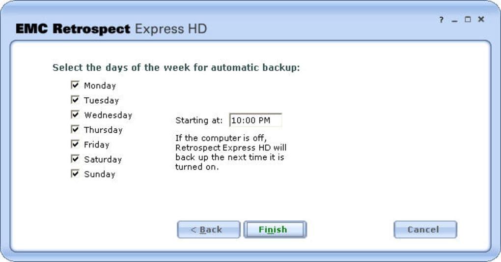 EMC Retrospect Express HD - Download