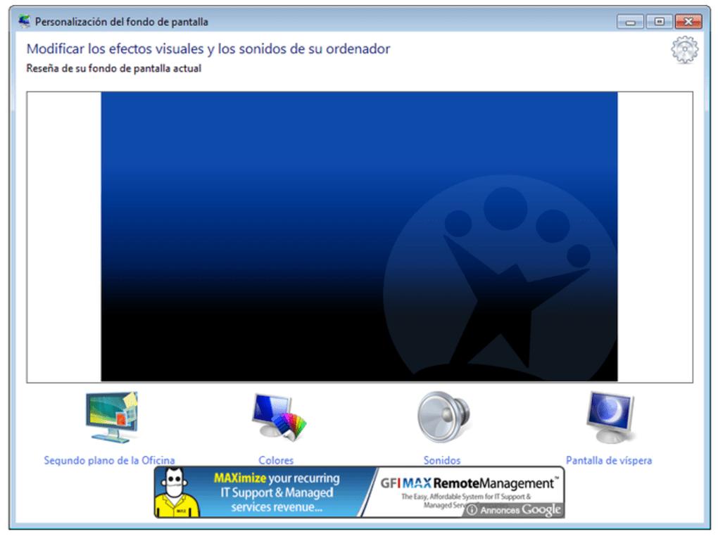 Windows 7 Starter Background Changer Program How To Change The