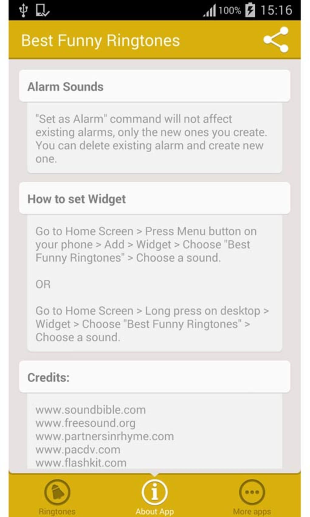 downloadable alarm tones