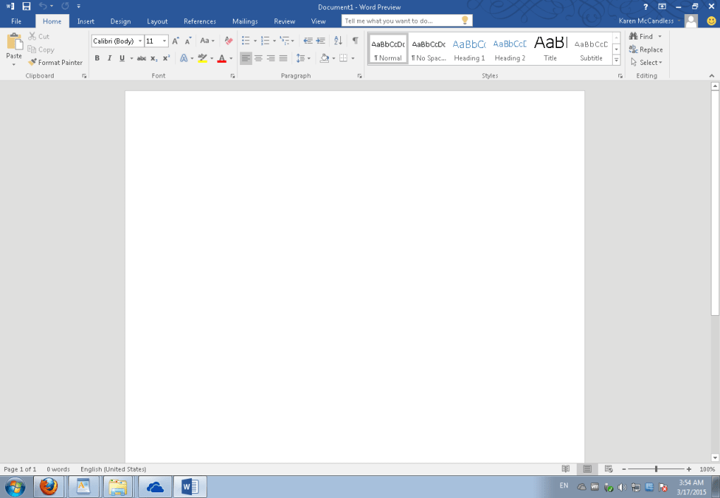ms office home and student version