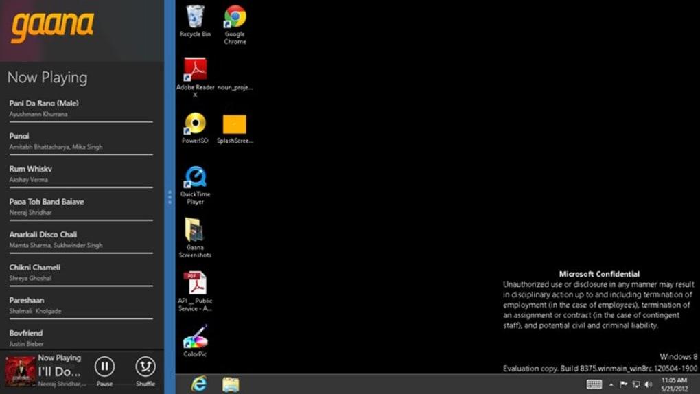 Gaana for Windows 10 (Windows) - Download