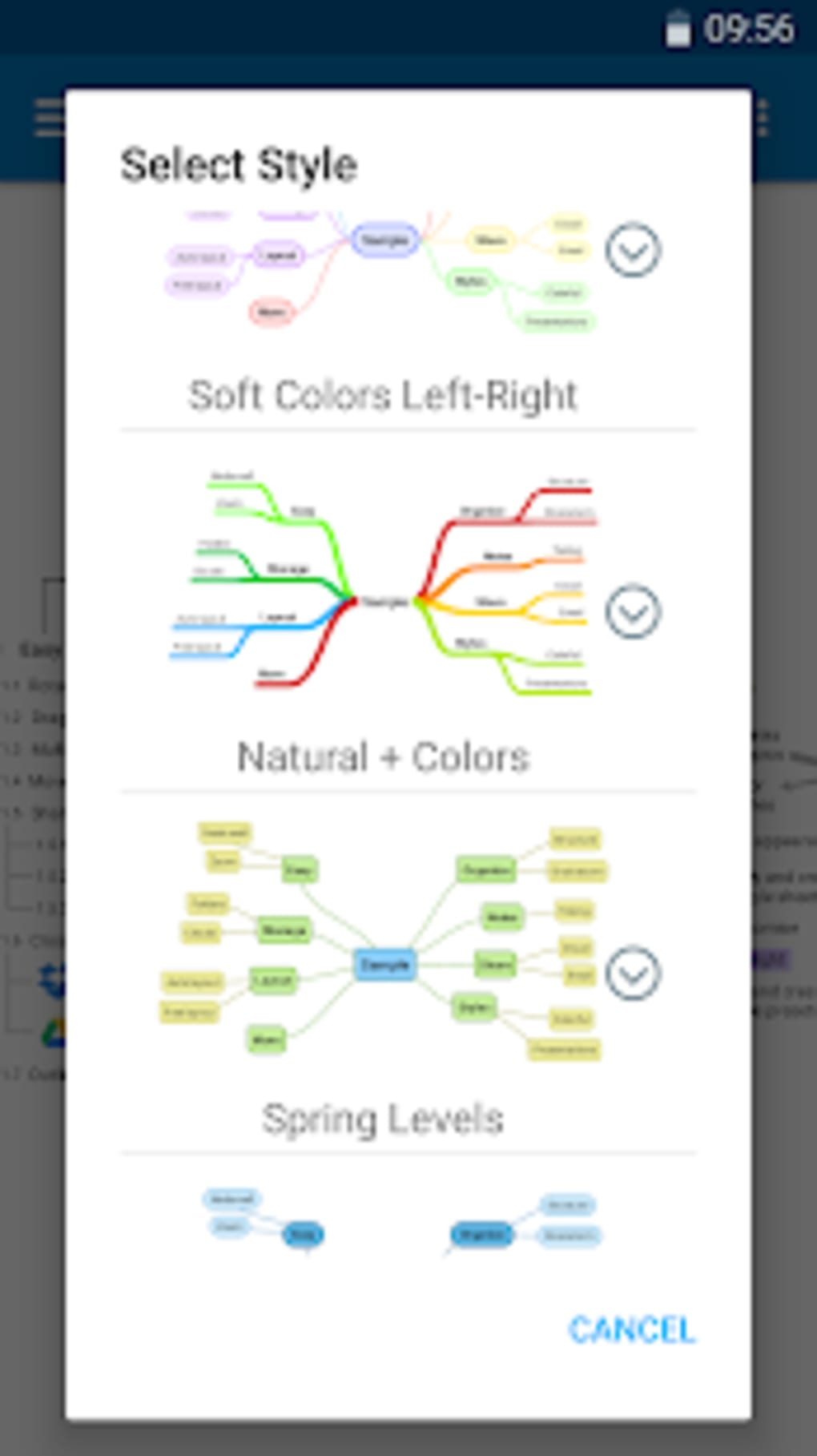 SimpleMind Pro - Intuitive Mind Mapping für Android - Download on