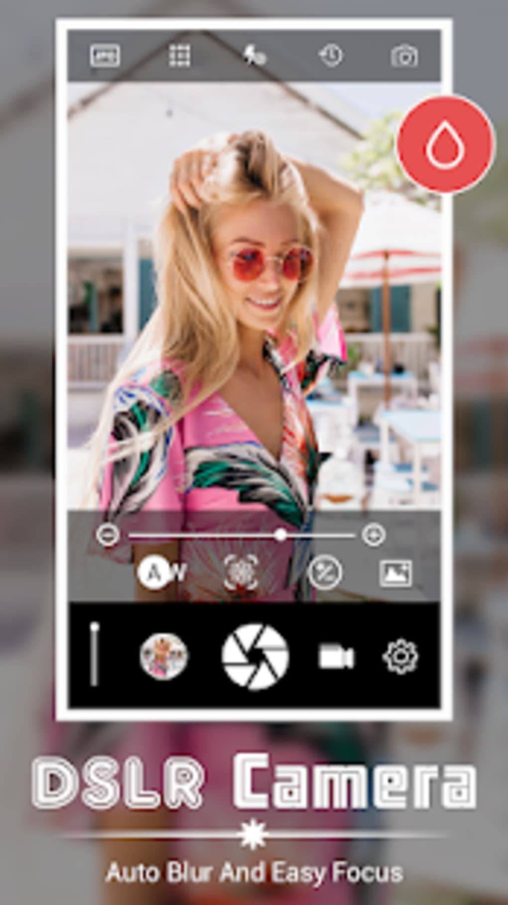 HD DSLR Camera - Ultra 4K HD Zoom Camera for Android - Download