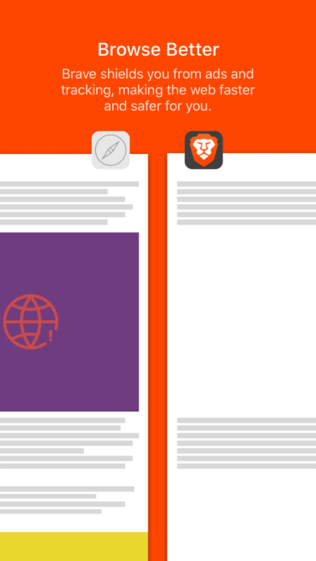 Brave Browser: Fast AdBlocker for iPhone - Download