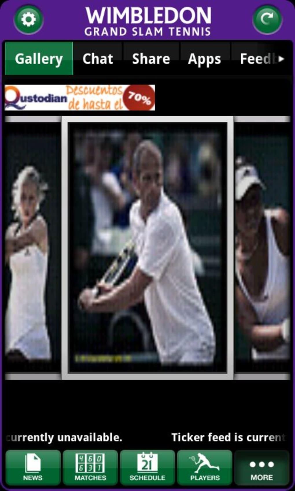 Wimbledon Grand Slam Tennis para Android