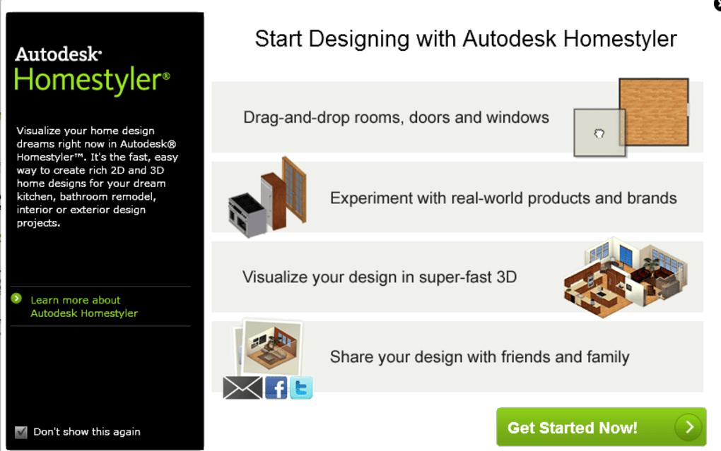 . Autodesk Homestyler Online