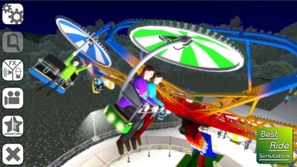 funfair ride simulator 3 galactic race apk